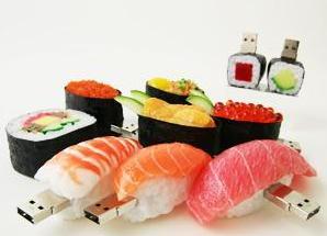 寿司型USBメモリ